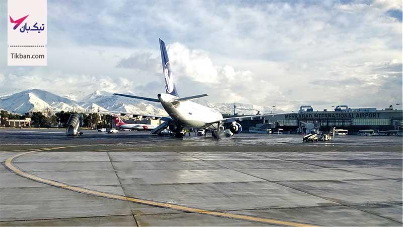 پروازهای ورودی فرودگاه مهرآباد
