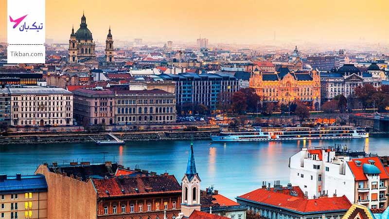 خرید بلیط هواپیما بوداپست
