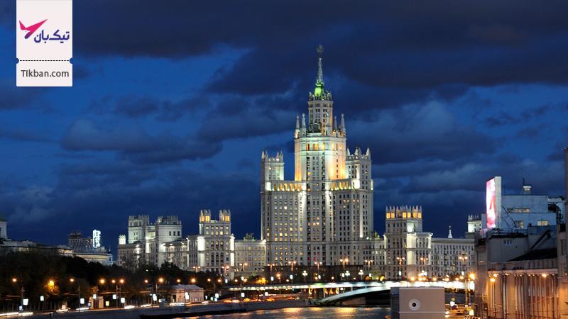 خرید بلیط هواپیما مسکو