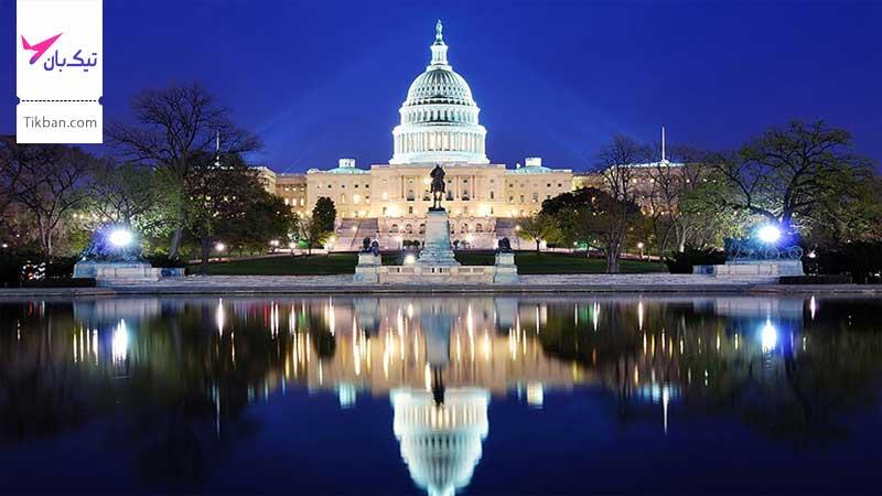 خرید بلیط هواپیما واشنگتن