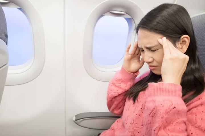 سرگیجه در هواپیما