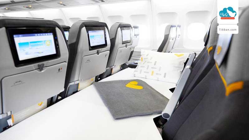 پرواز با صندلی اکونومی