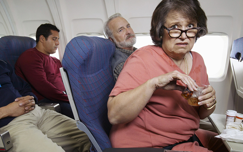 راه های مقابله با ترس از هواپیما