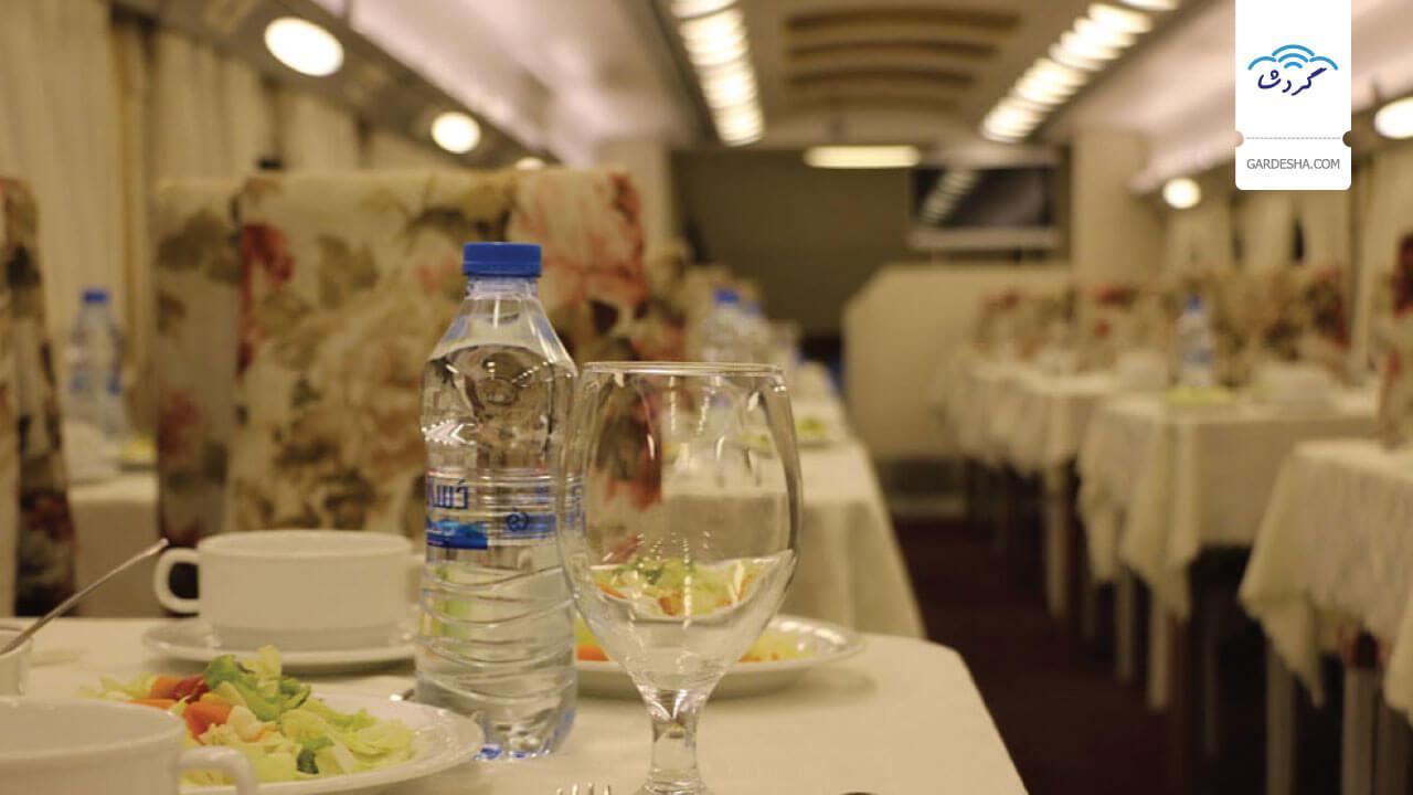 بلیط قطار لوکس تهران به مشهد