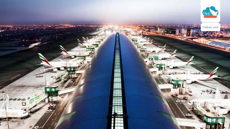 شلوغترین فرودگاه ها
