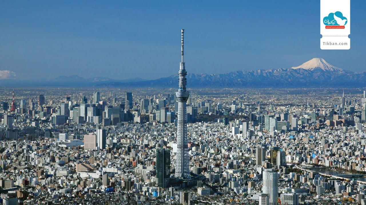 بلیط هواپیما توکیو