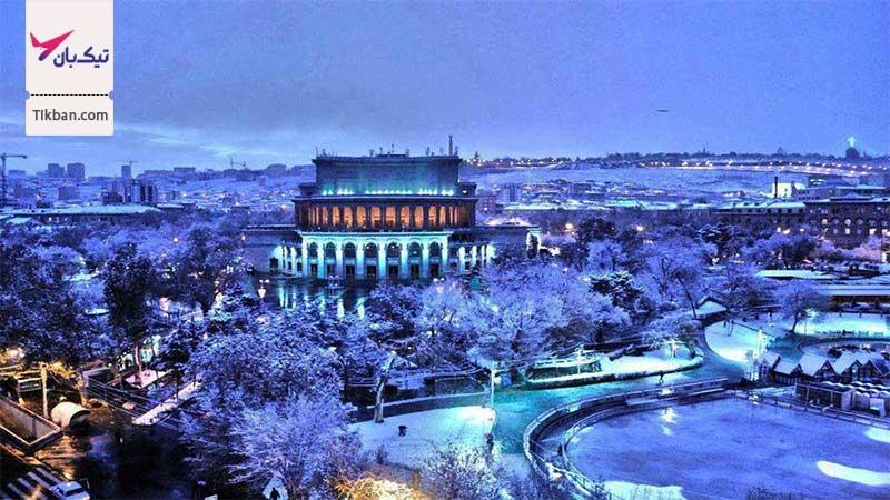 تور ارزان قیمت ارمنستان