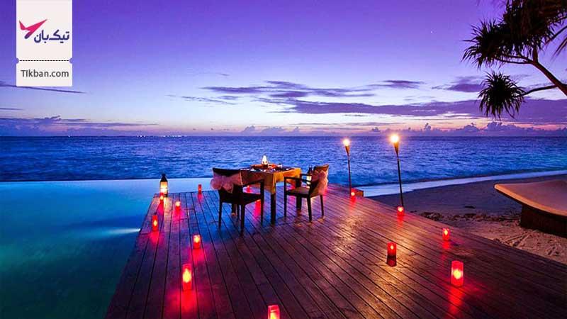 تور ارزان قیمت مالدیو