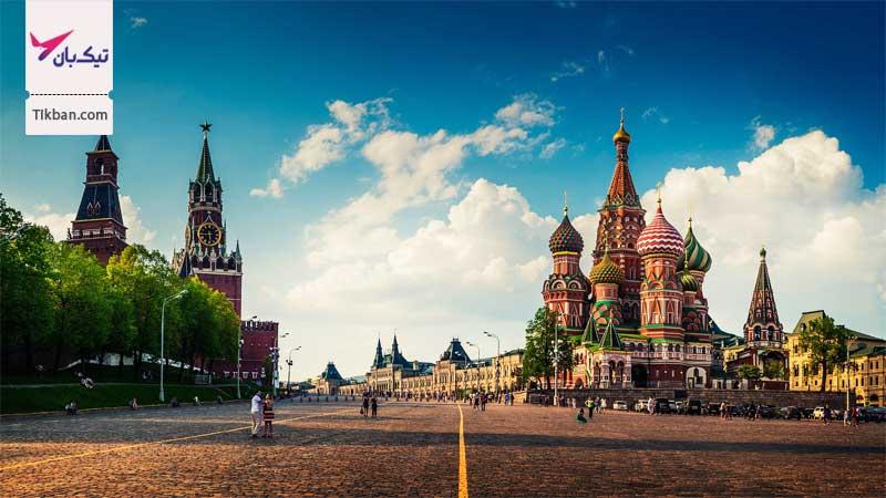 تور ارزان قیمت مسکو