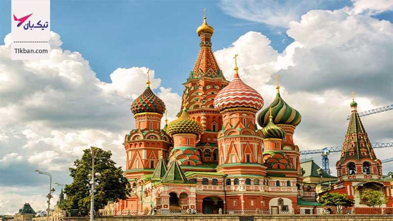 تور ارزان قیمت روسیه