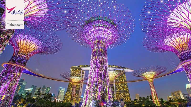 تور ارزان قیمت سنگاپور