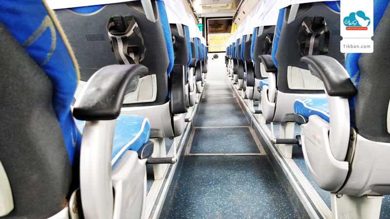 نوع صندلی اتوبوس style=