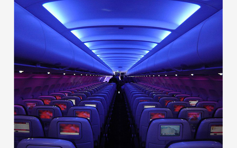 فضای داخلی هواپیمای ایرباس a320