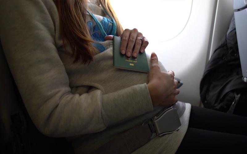 همه قوانین برای زنان باردار در هواپیما
