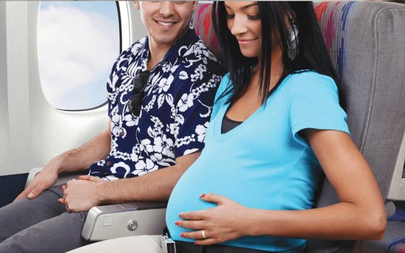 سوارشدن به هواپیما در بارداری